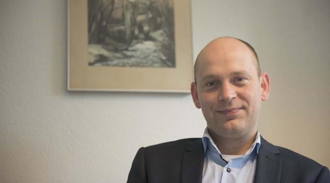 Nieuw Aqualink-lid; binnenvaartadvocaat mr. Bob van Treijen