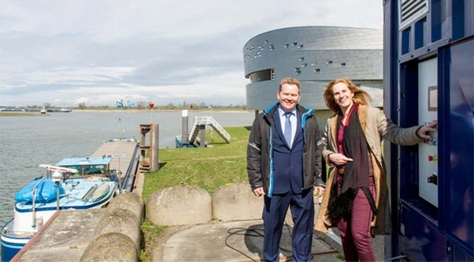 Nijmegen krijgt mobiele walstroomgenerator