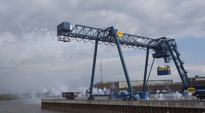 Rotra opent Container Terminal Doesburg