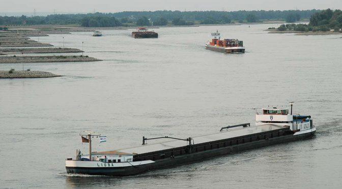 Binnenvaart vervoerde 0,2% meer lading in 2016