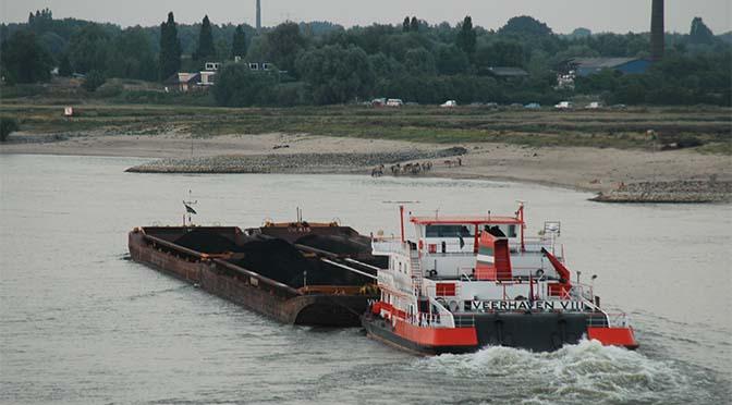 Gemeente Nijmegen wil schonere binnenvaart