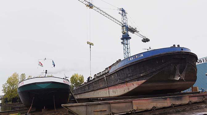 4,6 miljoen euro voor duurzame scheepsbouw
