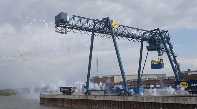 Container Terminal Doesburg operationeel