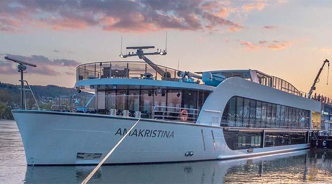 AmaKristina is 19e schip voor AmaWaterways