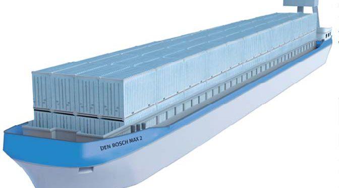 BCTN laat elektrisch containerschip bouwen