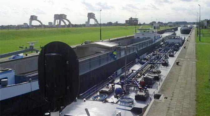 RWS werkt tien weken aan sluis Amerongen