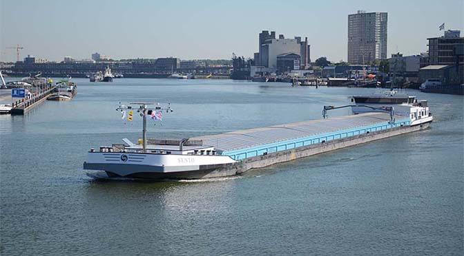 Stimuleringsregeling schone binnenvaart in Rotterdam