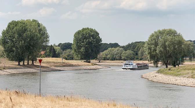 Nog altijd lage aanvoer Rijn en Maas