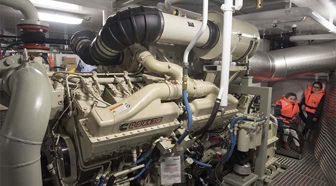 Noodkreet emissie-eisen binnenvaartmotoren