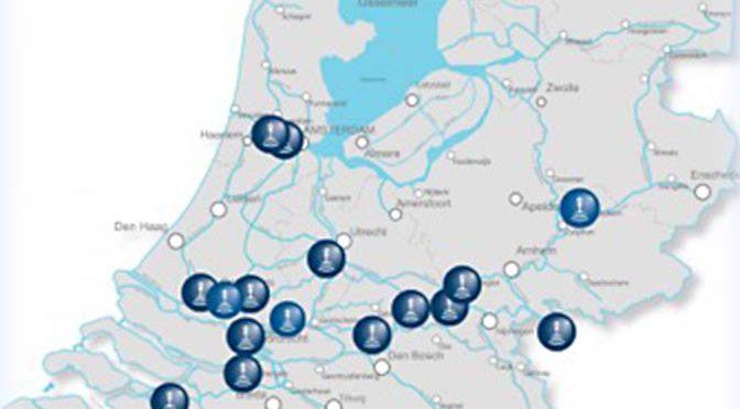 Gratis wifi voor de binnenvaart op 18 locaties