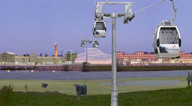 Toch geen kabelbaan over Maas bij Venlo