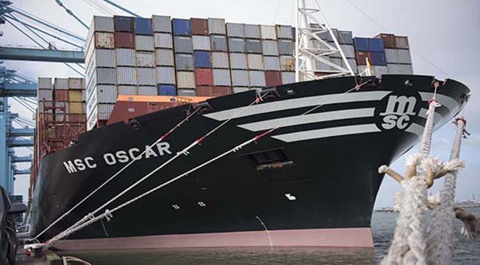 Containeroverslag daalt vanwege handelsconflict