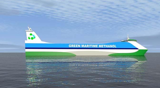 Onderzoek op negen schepen voor gebruik methanol als brandstof