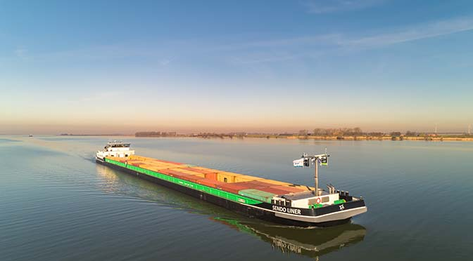 Sendo Liner is schip van het jaar