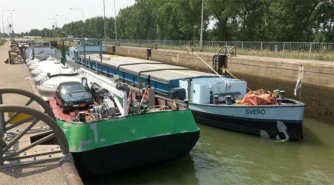 Maatregelen vanwege lage waterafvoer Maas