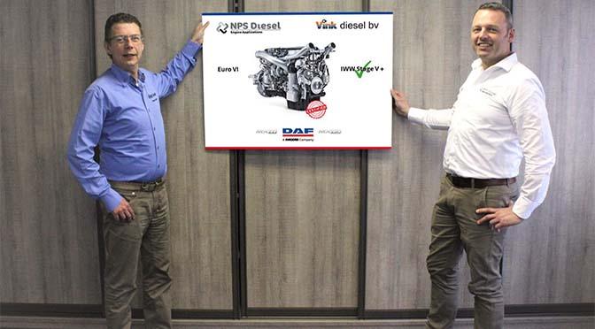 DAF van NPS en Vink Diesel voldoet aan Stage V eisen