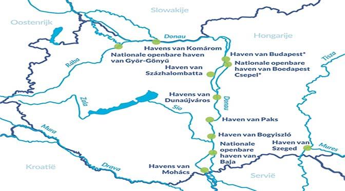 Meer vervoer over water Donaulanden