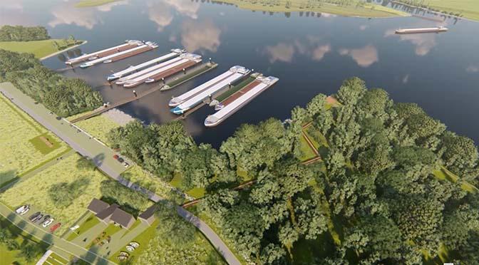 Overnachtingshaven Giesbeek later klaar dan gepland