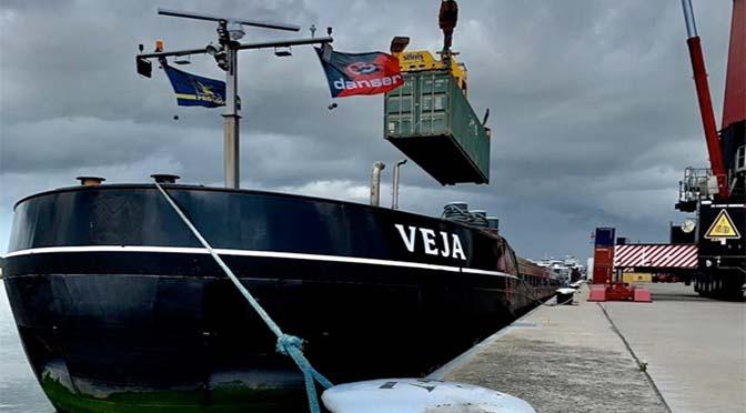 Danser en North Sea Port positief over modal shift