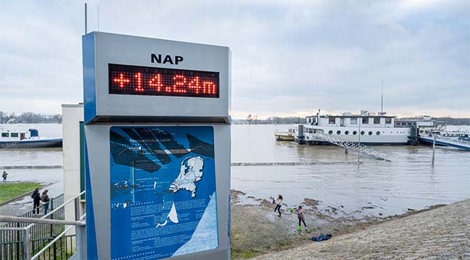 RWS komt met 14-daagse verwachting waterdiepte Rijn