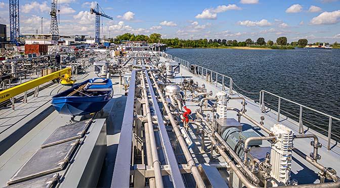 Metaalbedrijf Willems profileert zich steeds duidelijker in de binnenvaart