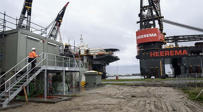 Overslag haven Rotterdam stijgt met kleine zes procent