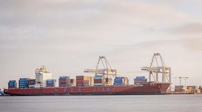Daling overslag havens Noordzeekanaalgebied