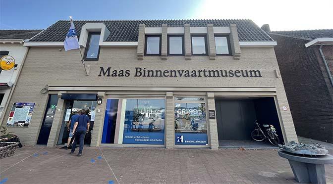 Maas Binnenvaartmuseum treedt naar buiten